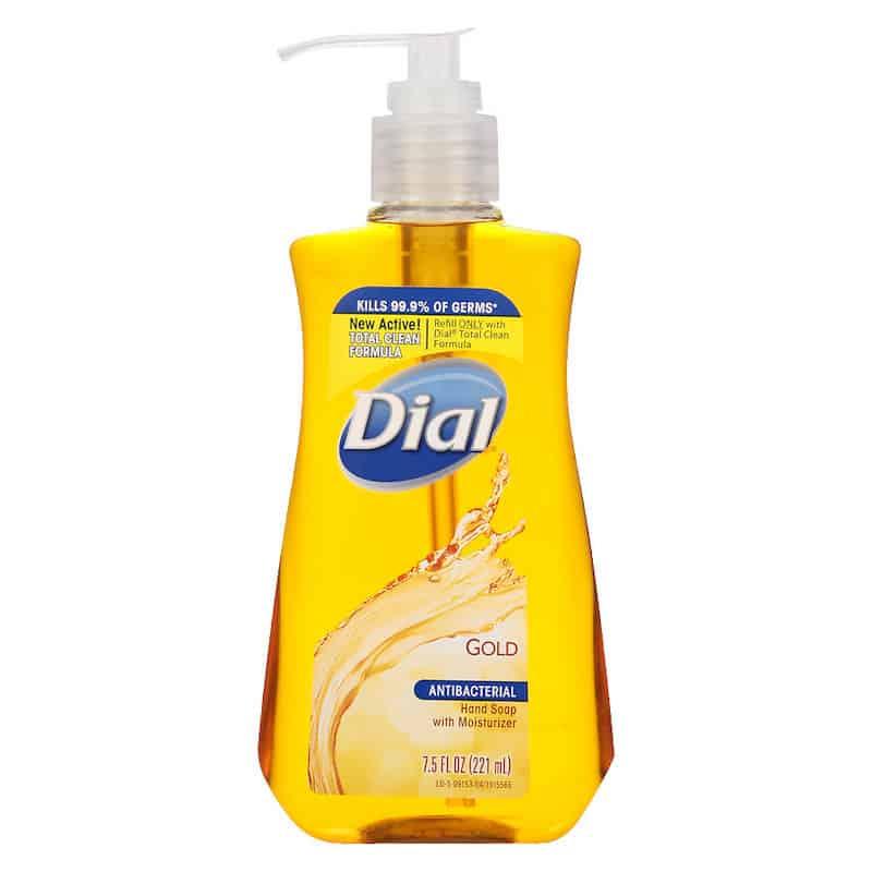 Dial Soap For Fleas
