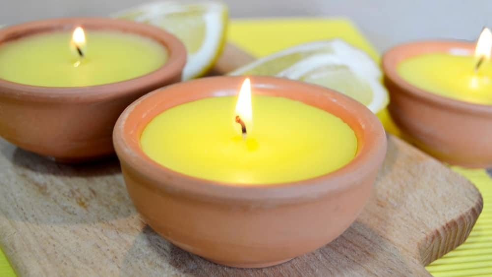 citronella candles for mosquitoes